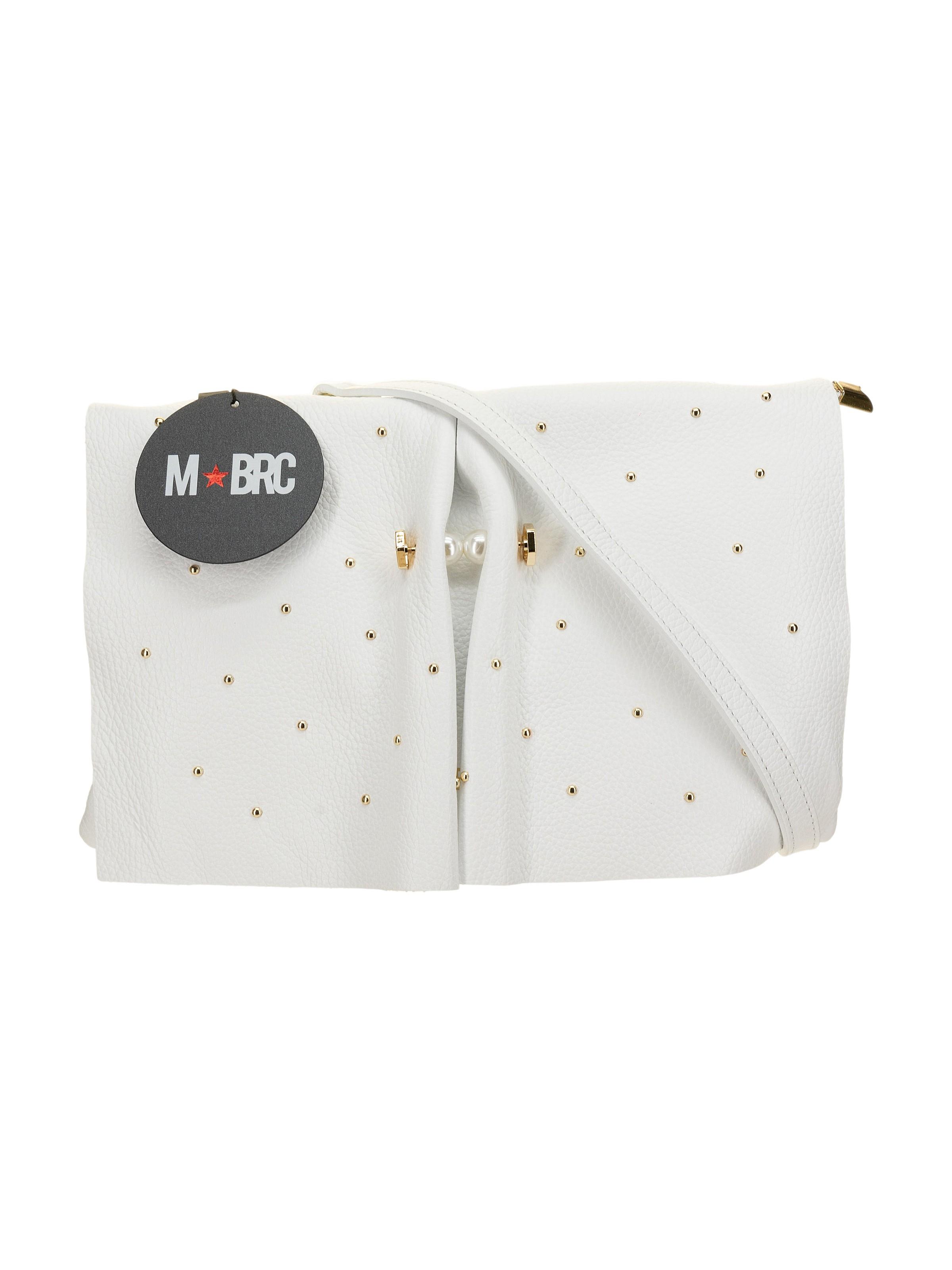 M-BRC Borsa a tracolla Bianco