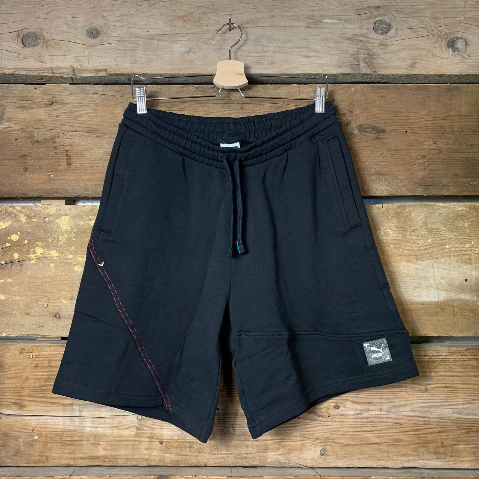 Pantaloncino Puma Re.Gen Shorts in Cotone Nero