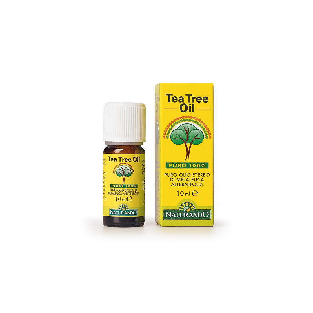 Naturando, Tea Tree Oil puro al 100% 10ml