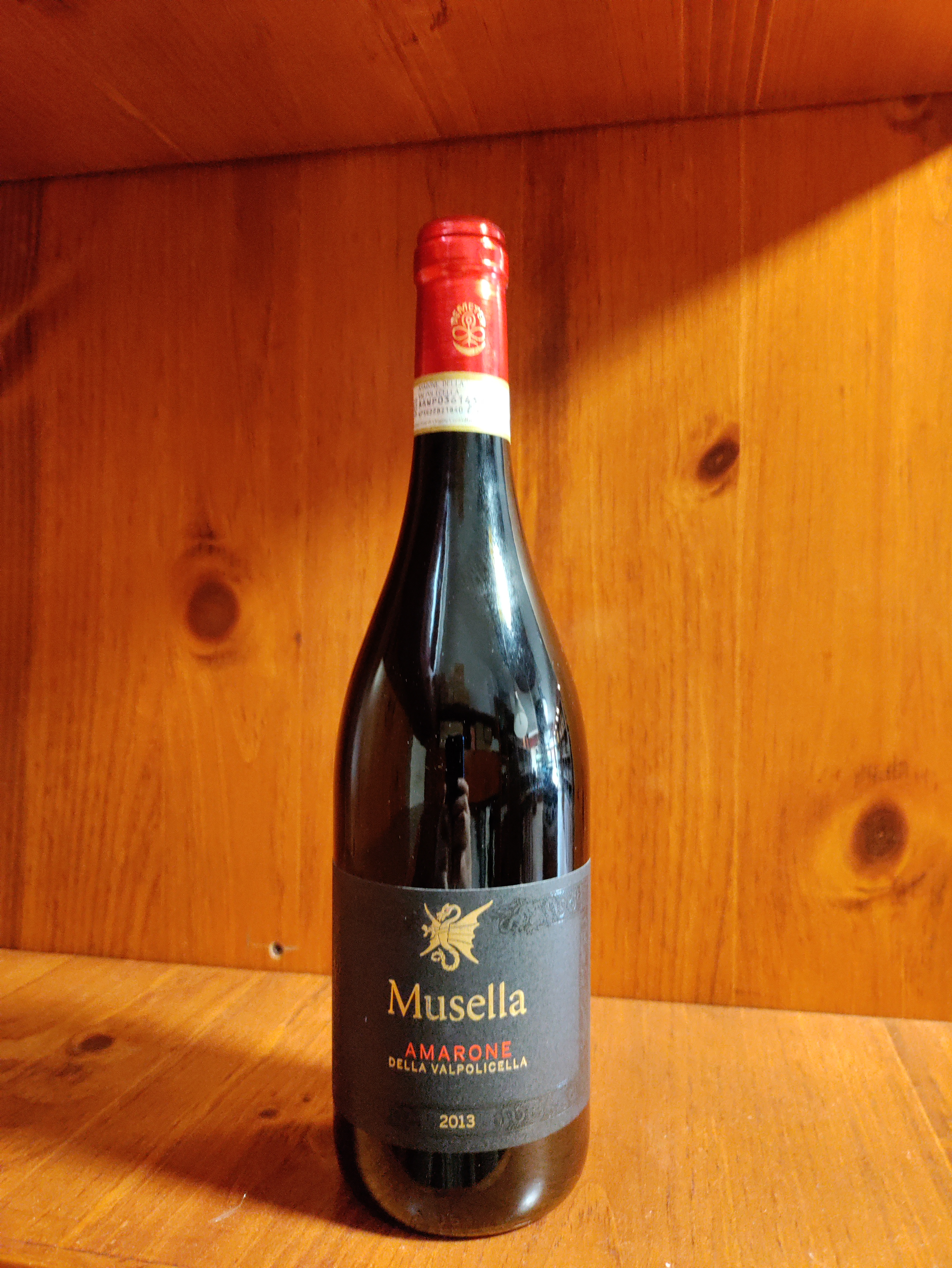 Amarone della valpolicella docg 2013 Musella cl.75