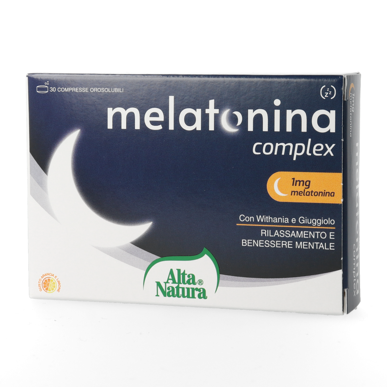 Alta Natura, Melatonina Complex 30cpr