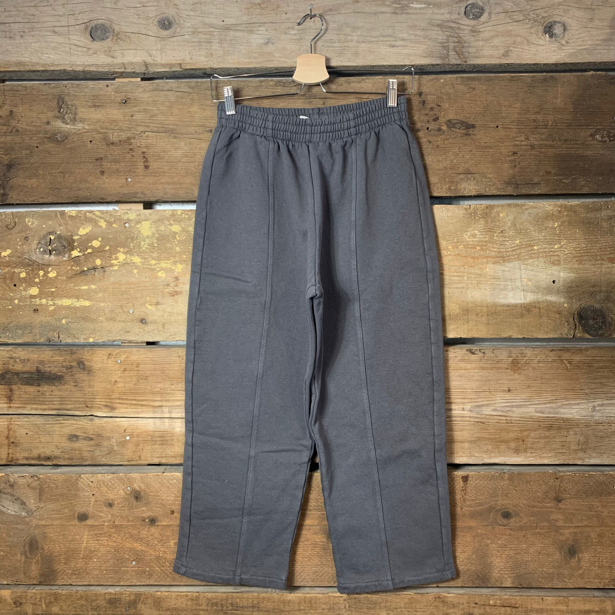 Pantalone American Vintage Jogger Cropped Antracite