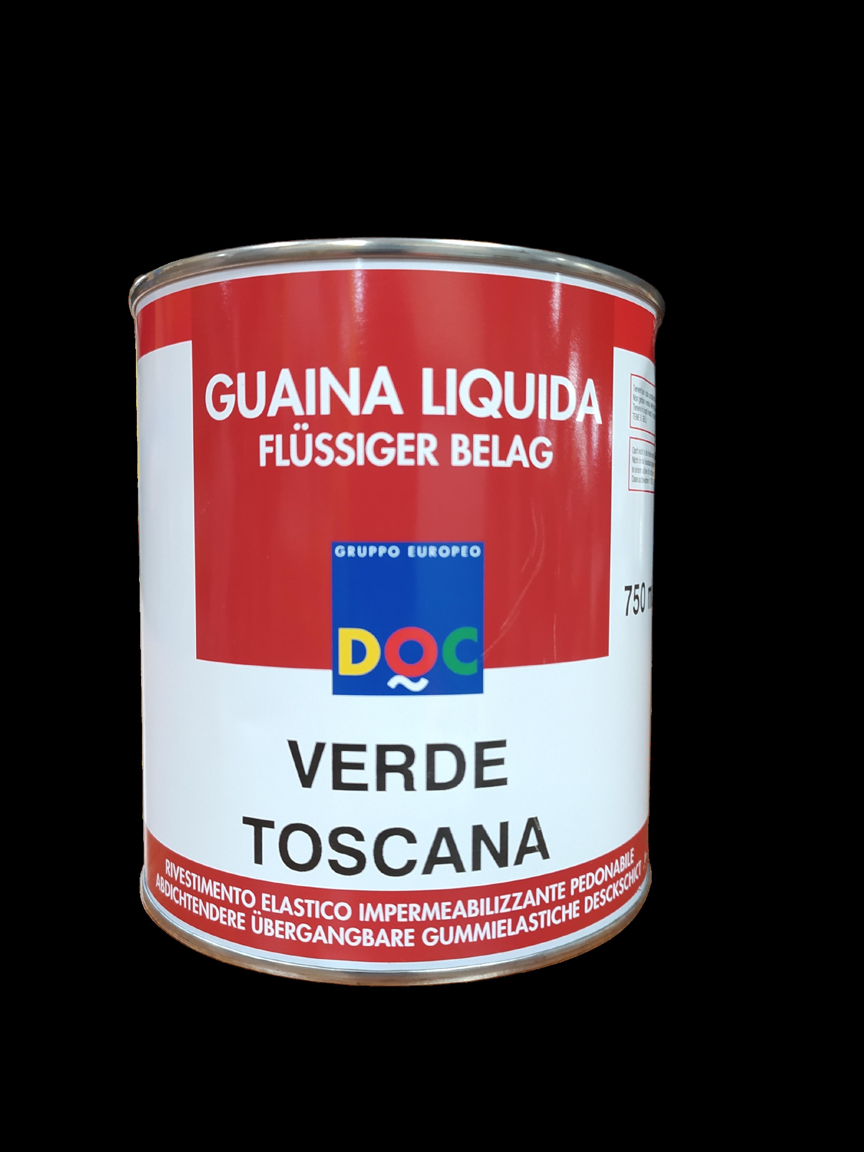 GUAINA LIQUIDA PEDONABILE VERDE TOSCANA 750ML DOC