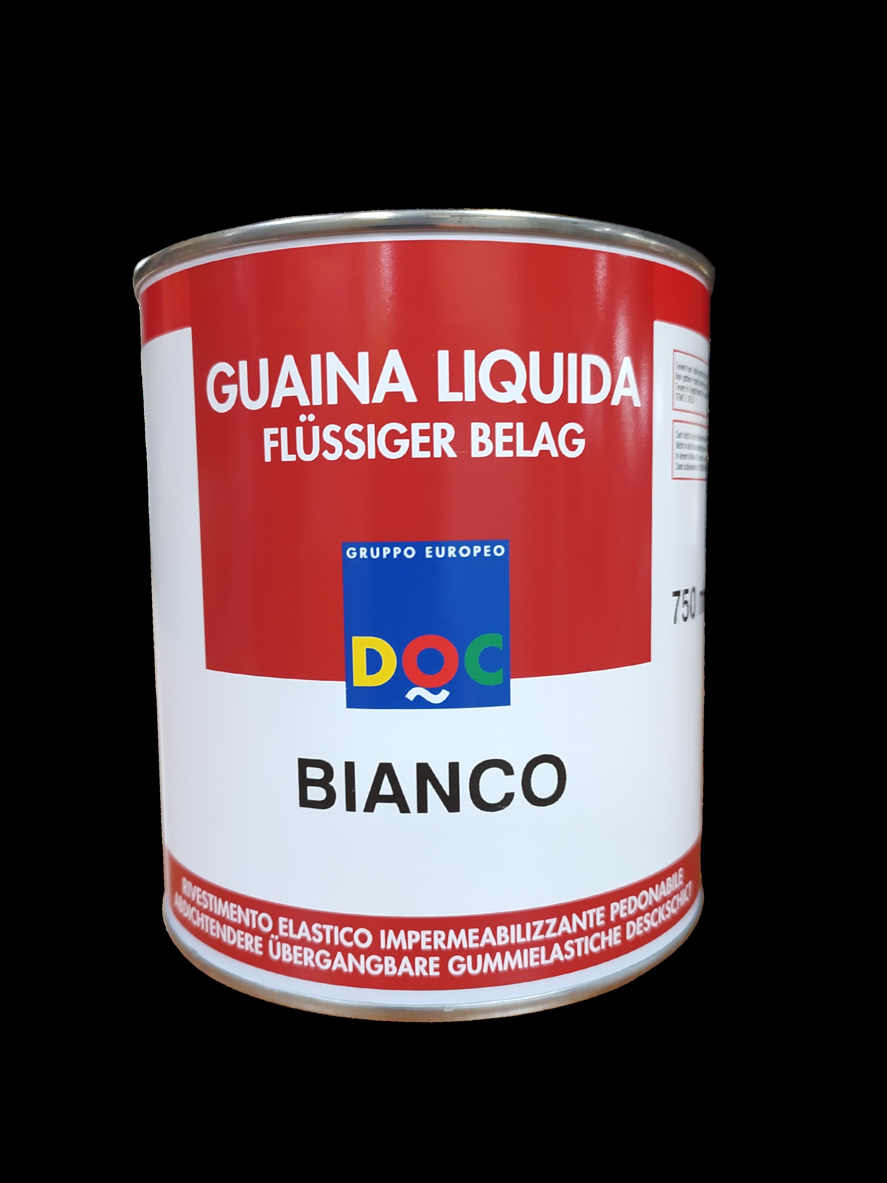 GUAINA LIQUIDA PEDONABILE BIANCO 750ML DOC