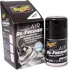 AIR REFRESHER-ODOR ELIM BLACK CHROME