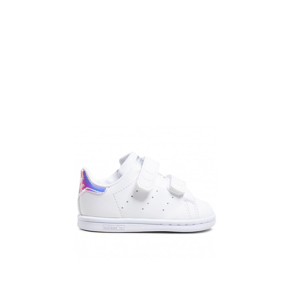 Adidas Stan Smith con Strappi Multicolore da Bambina
