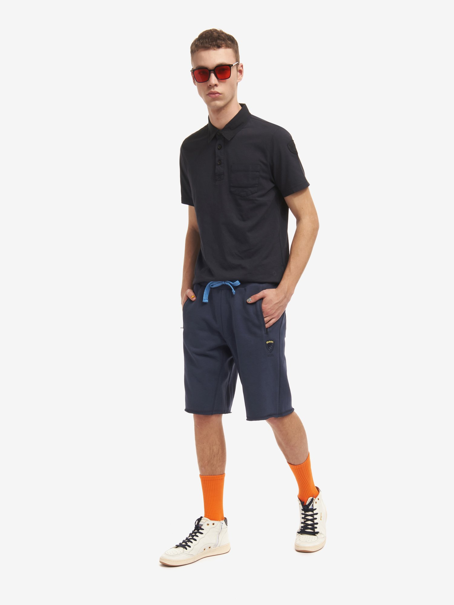 Felpa pantalone short