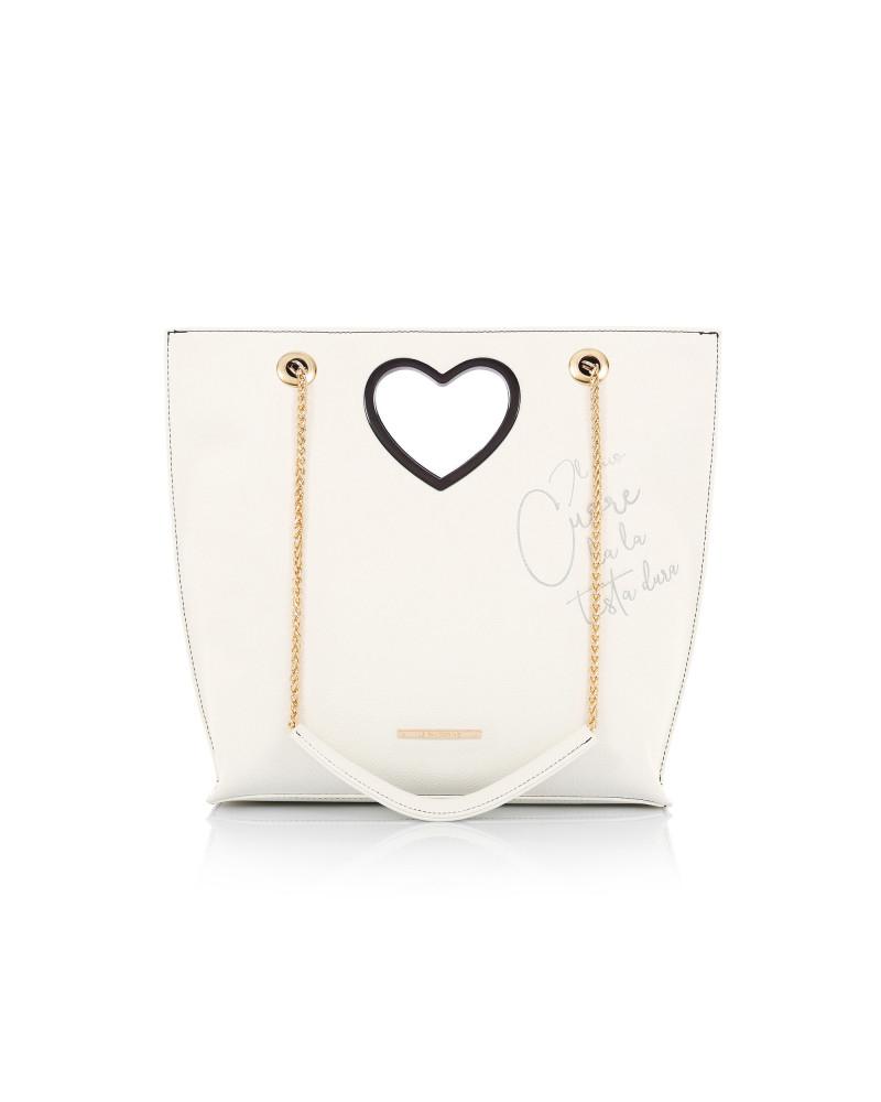 Le Pandorine Love Bag TESTA White