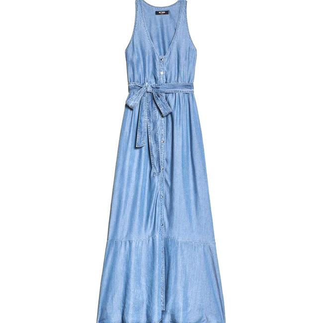 Abito Lungo in Jeans - TWIN SET