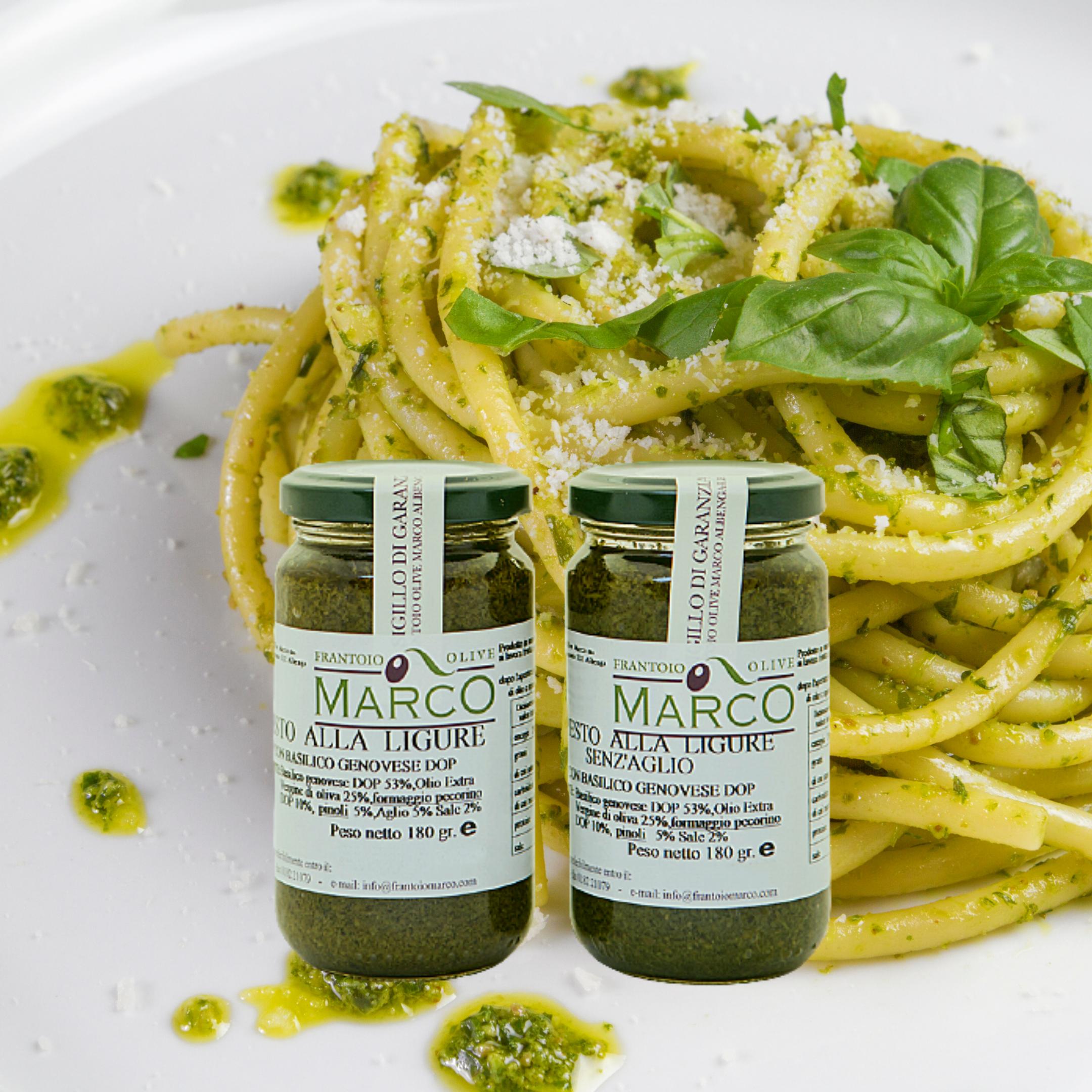 Pesto alla ligure senz'aglio 135 g