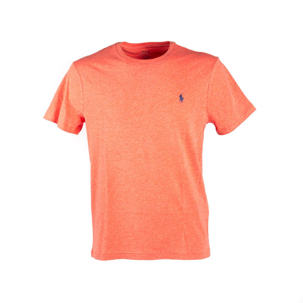 T-Shirt Manica Corta Polo Ralph Lauren Corallo