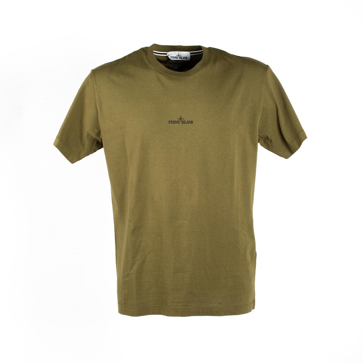 T-shirt Stone Island Oliva