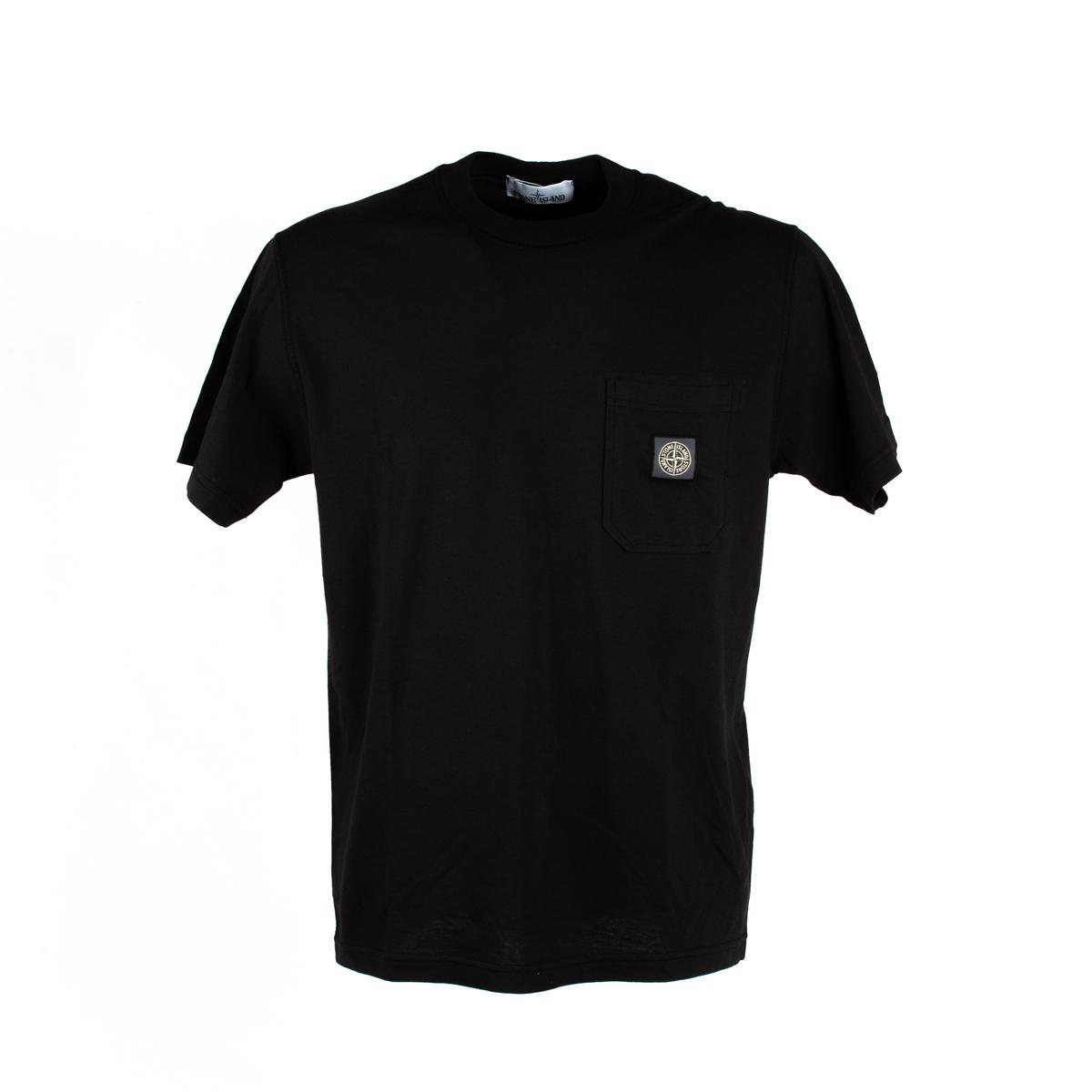 T-shirt Stone Island Nera