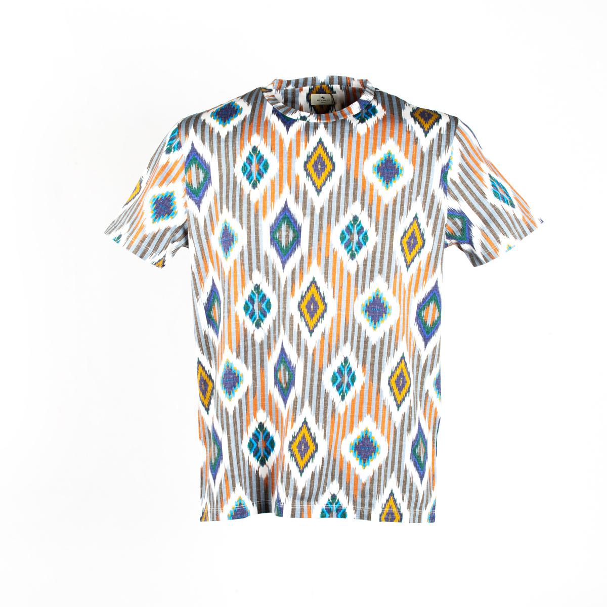 T-shirt Etro Geometrie Multicolor