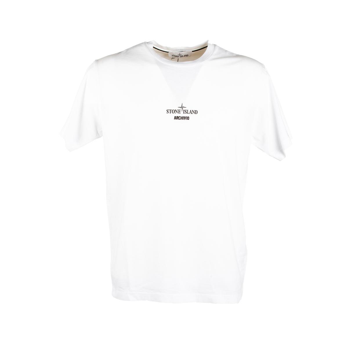 T-shirt Stone Island Bianca