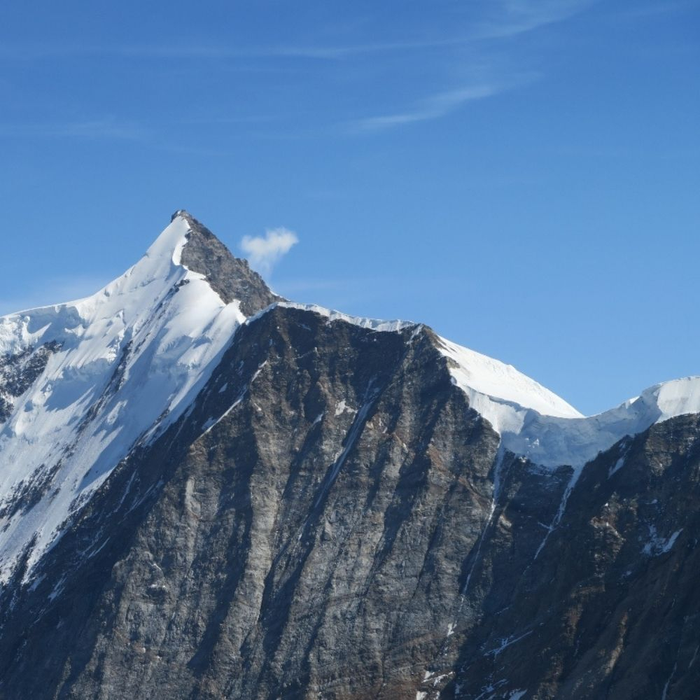 Garmont - The Eiger wall, at my feet
