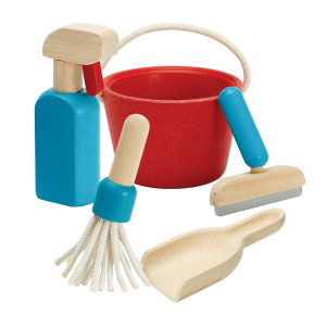 PLAN TOYS Cleaning Set - Kit di pulizie