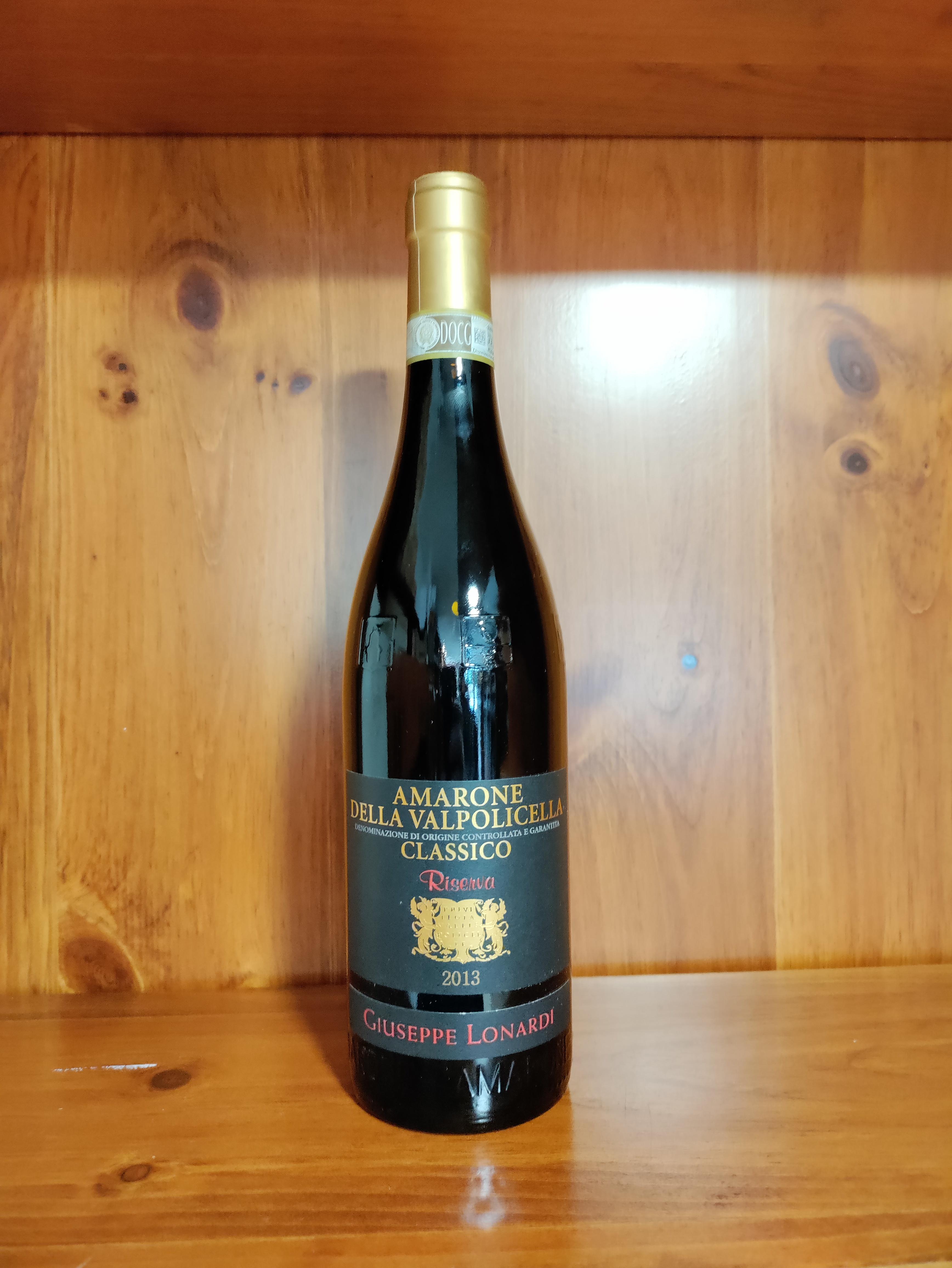 Amarone della Valpolicella Docg Classico Riserva 2013 cl.75 Corte Lonardi