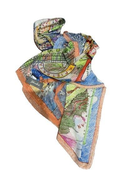Faliero foulard stampa Forte dei Marmi ss2021