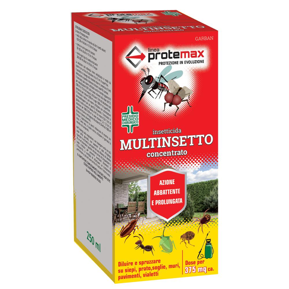 INSETTICIDA MULTINSETTO CONCENTRATO PROTEMAX 250ML