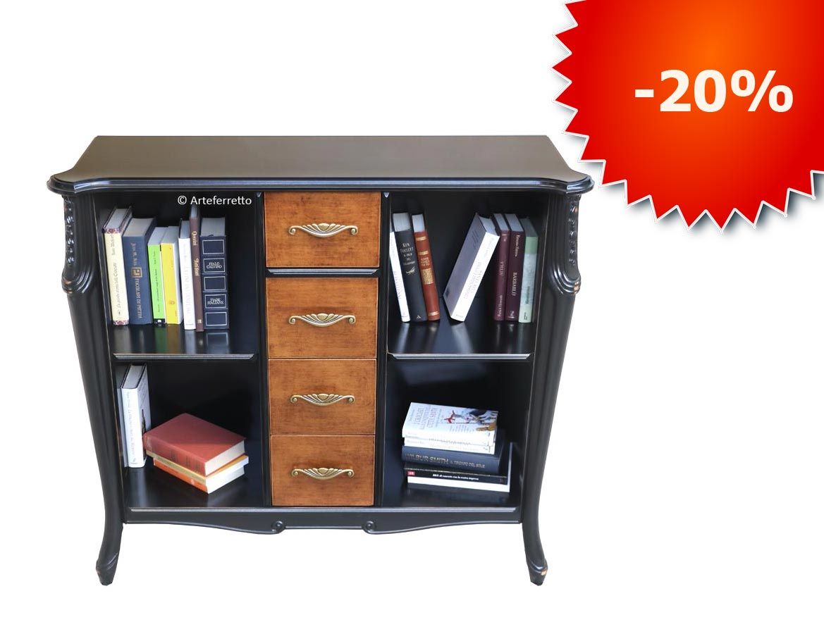 PROMO! Law bookcase 4 drawers Beautiful Line