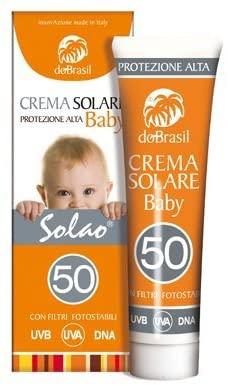 DoBrasil, Solao Crema solare protettiva Baby spf 50 100 ml