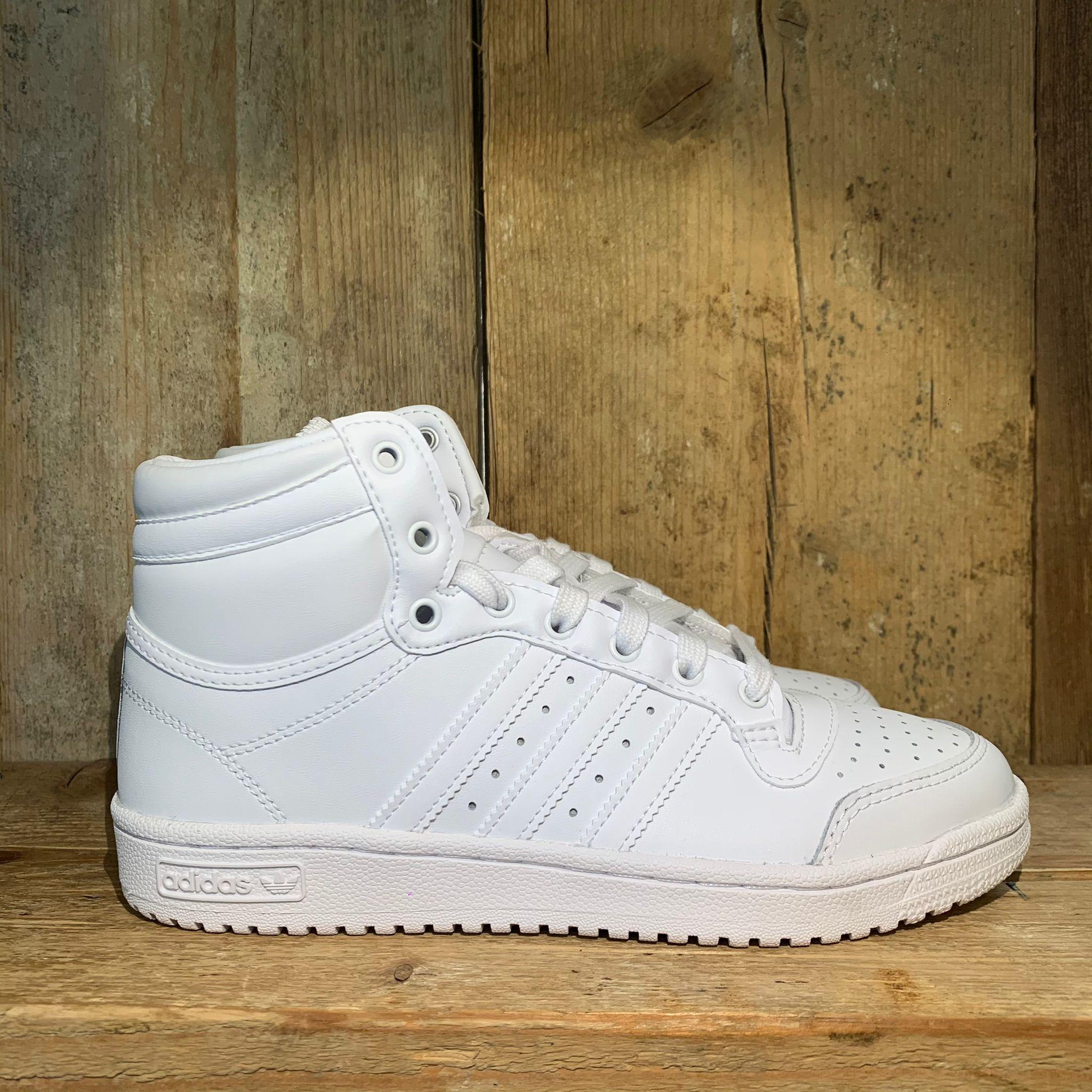 Scarpa Adidas Top Ten Hi J Bianca