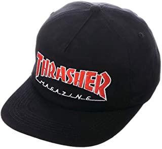 Cappello Thrasher Black Red