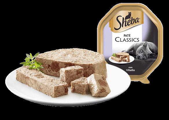 SHEBA CLASSIC  con vitello 085g