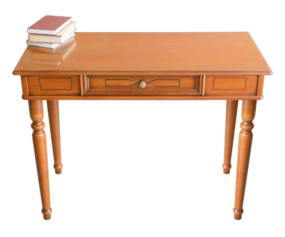 Decorated desk classic style