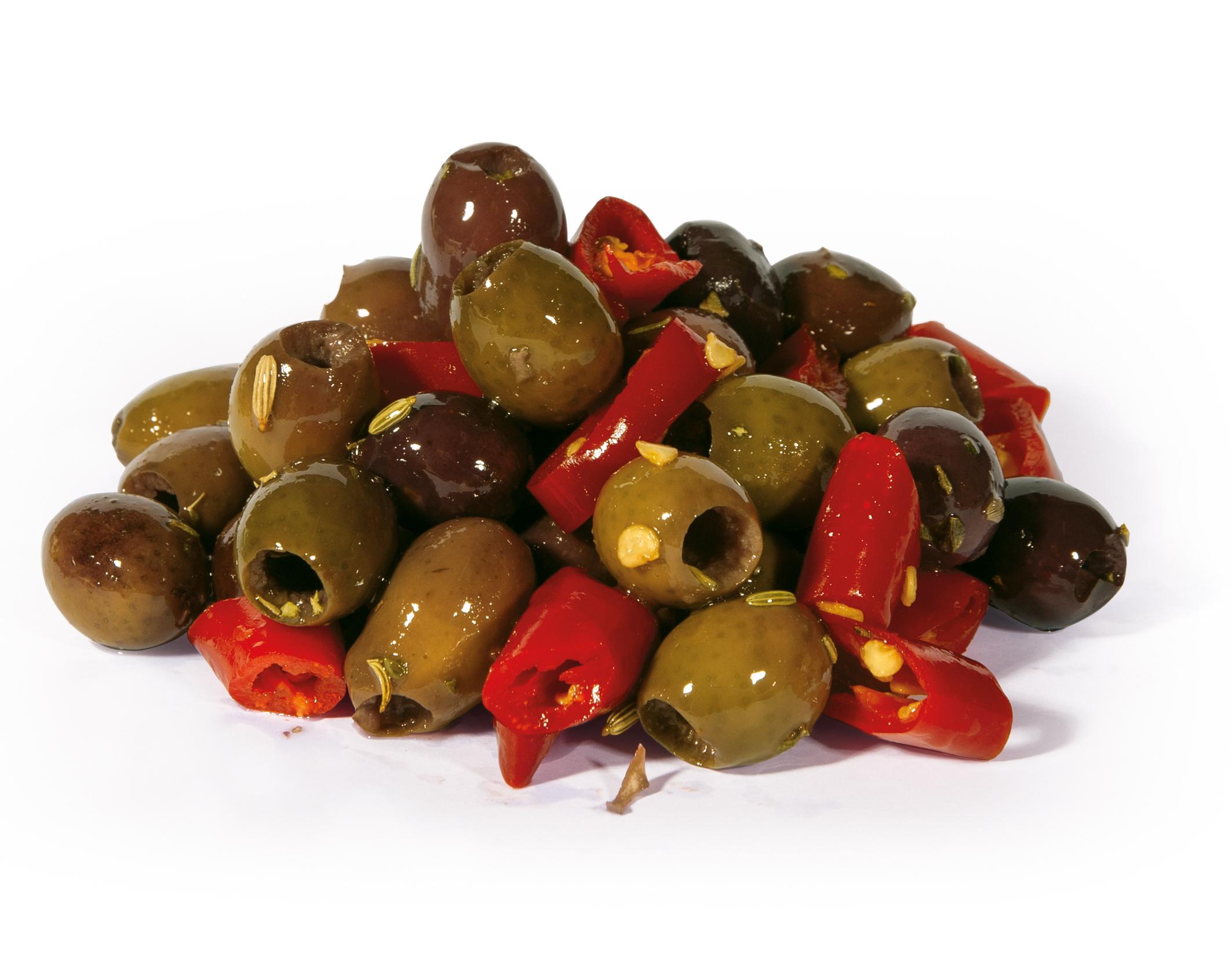 Fantasia di olive piccanti - PecoRaro