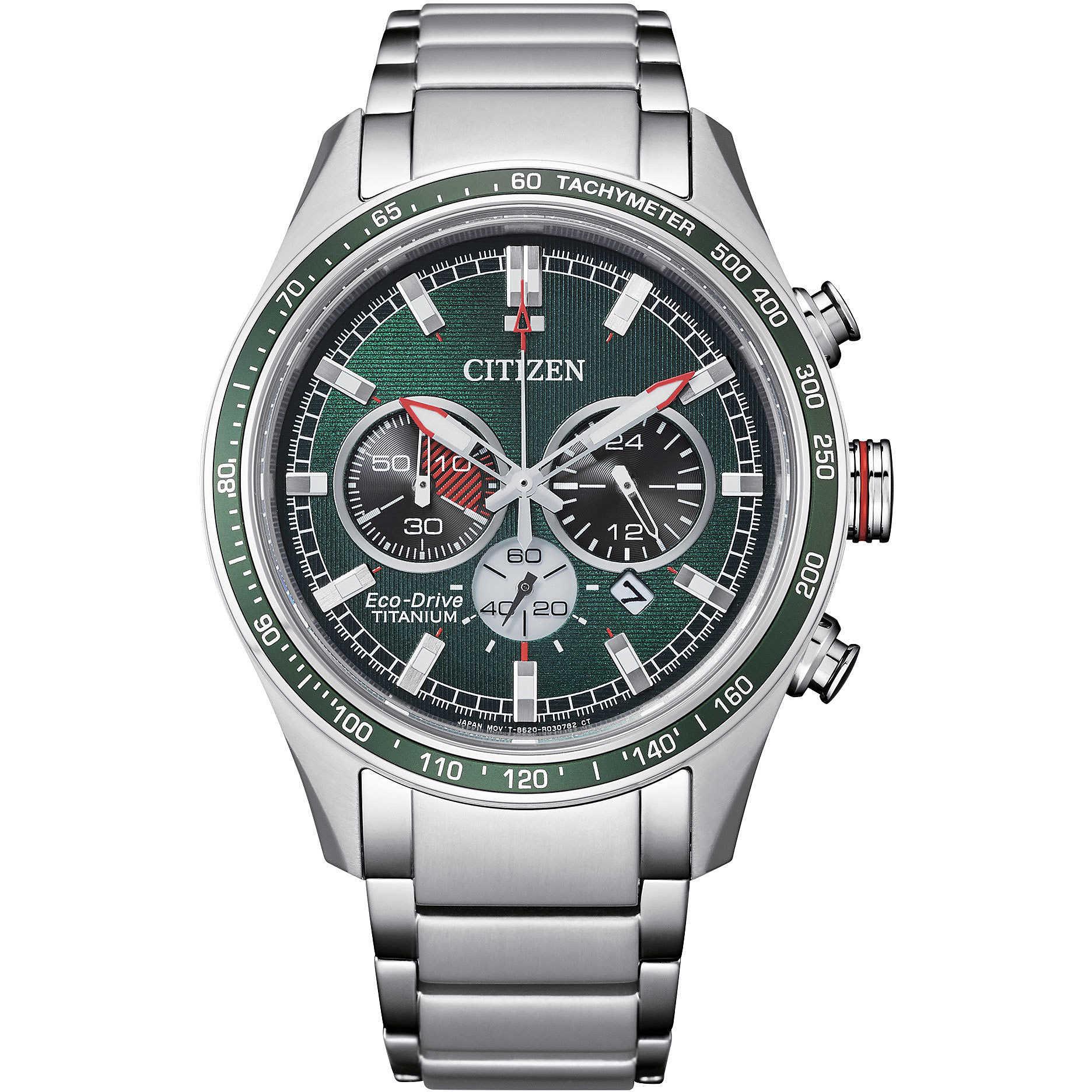 Citizen orologio cronografo uomo Citizen Supertitanio