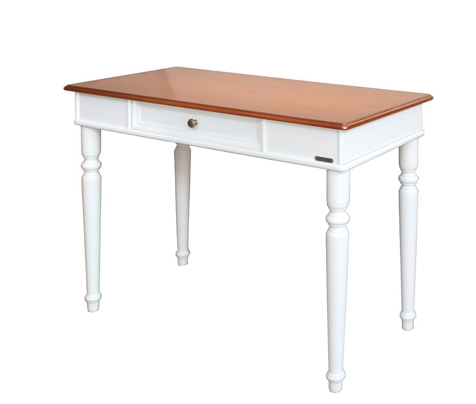 Classic two-colour desk