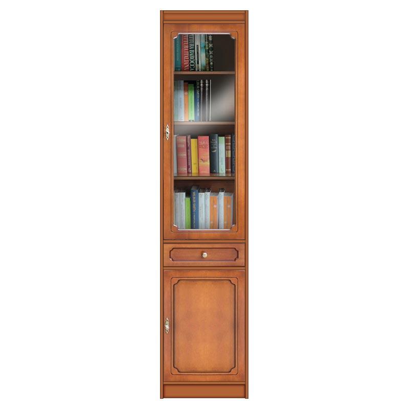 Raumsparendes Bücherregal mit Türen