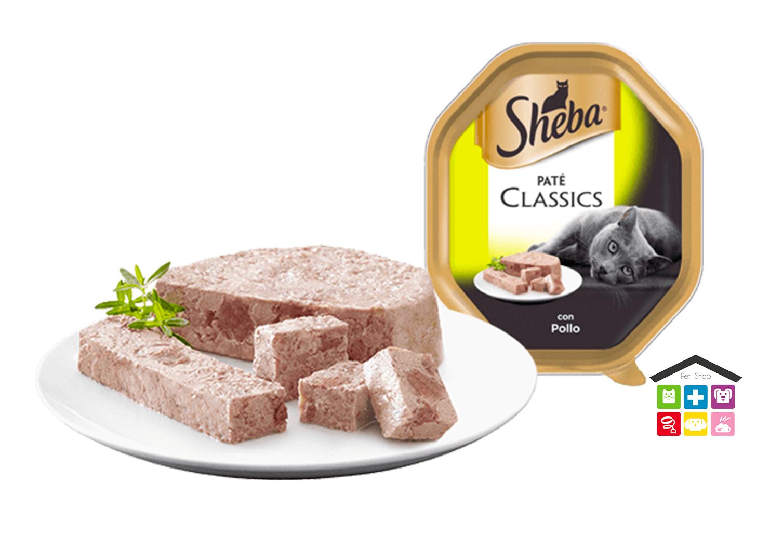 Sheba Paté Classic Con Pollo 0,85G