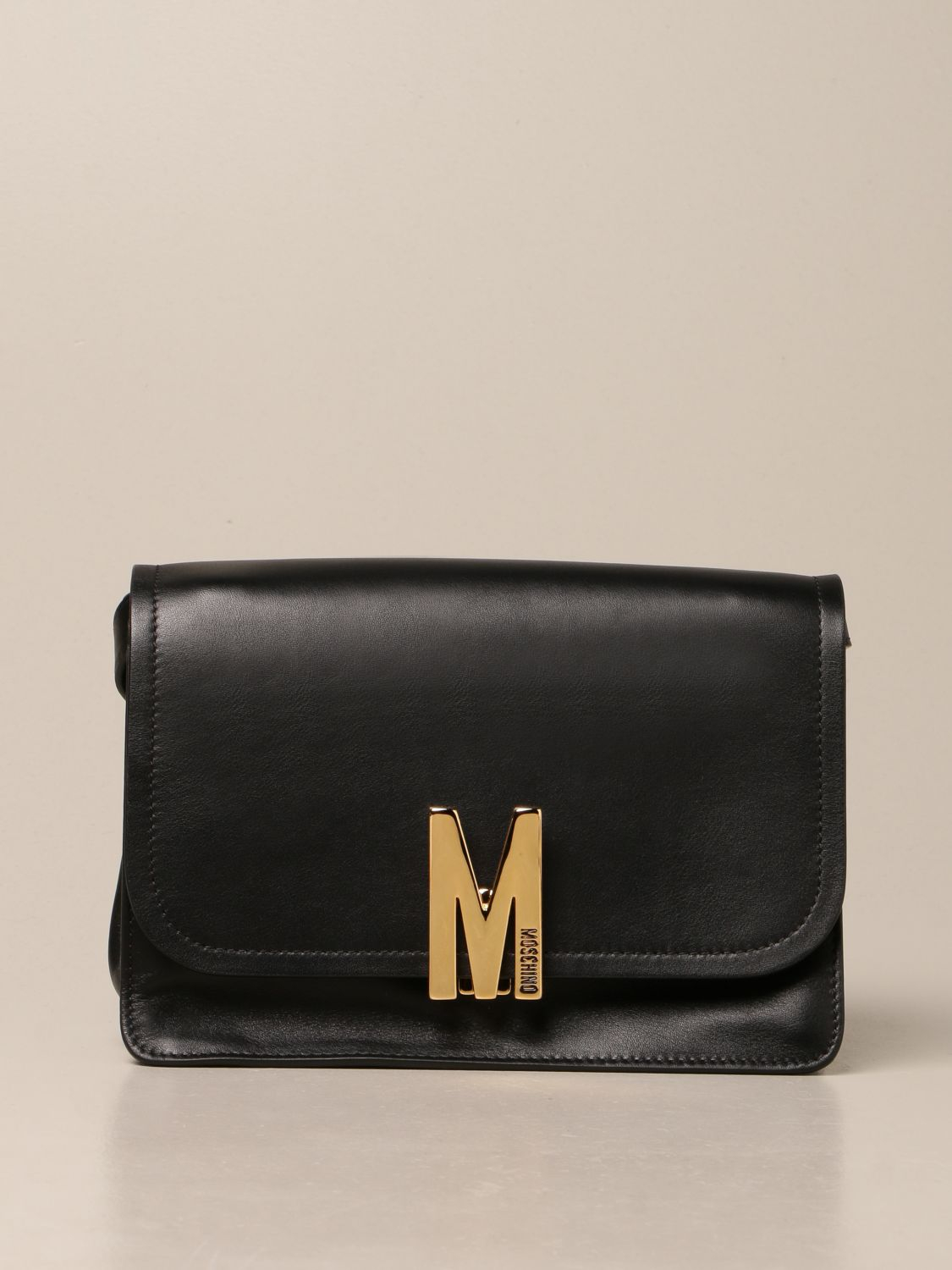 Borsa in pelle moschino couture