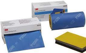 3M Grippy Rotoli abrasivi flessibili rotolo da 20 fogli 139 mm x 114 mm fogli abrasivi
