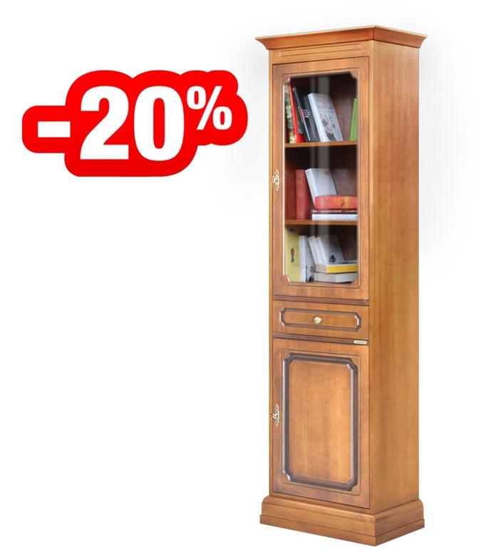 Vitrina librería ahorra-espacio - oferta