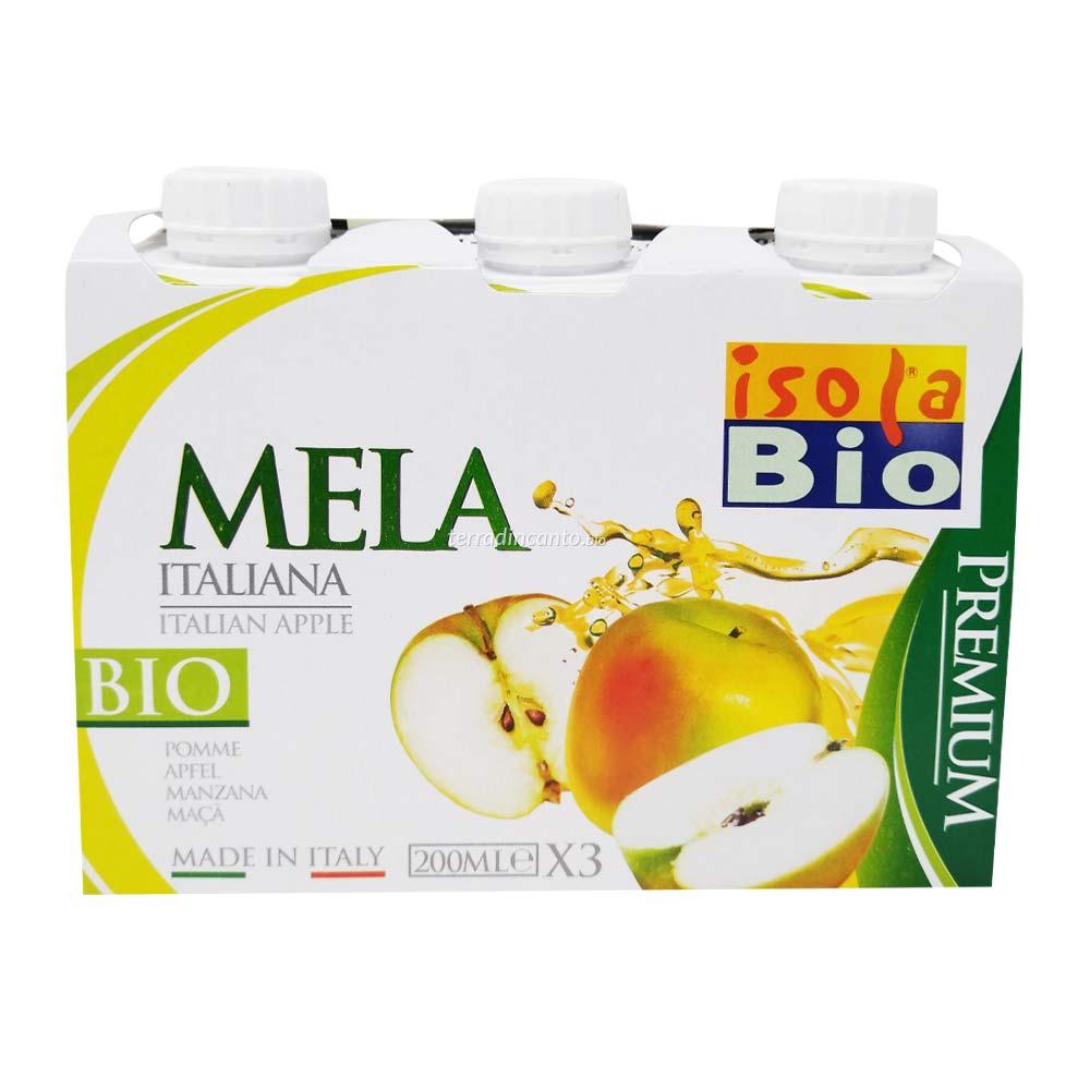 Succo di Mela in Brick 3x 200 ml Isola Bio