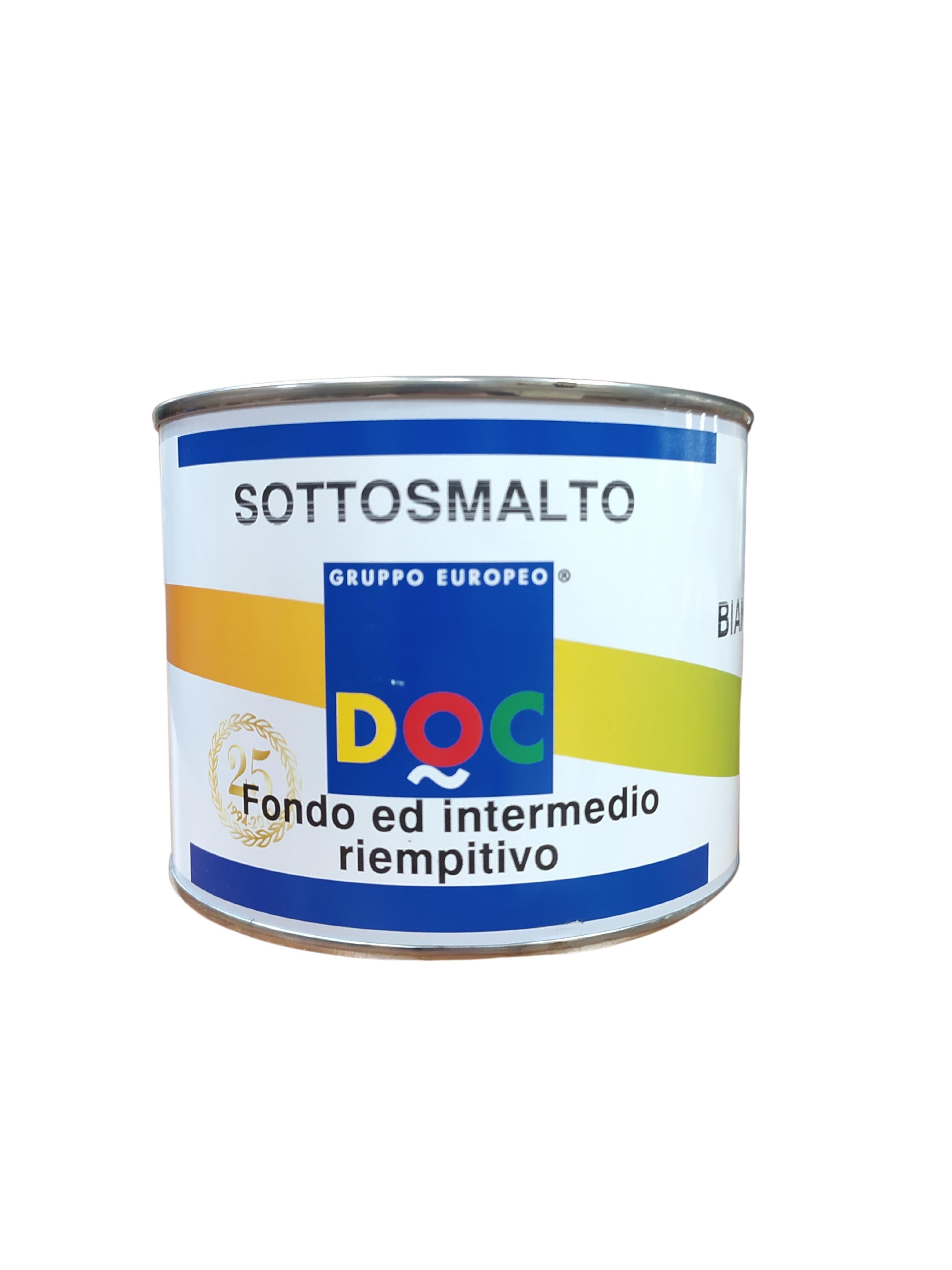 SOTTOSMALTO (CEMENTITE) SINTETICA BIANCA DOC