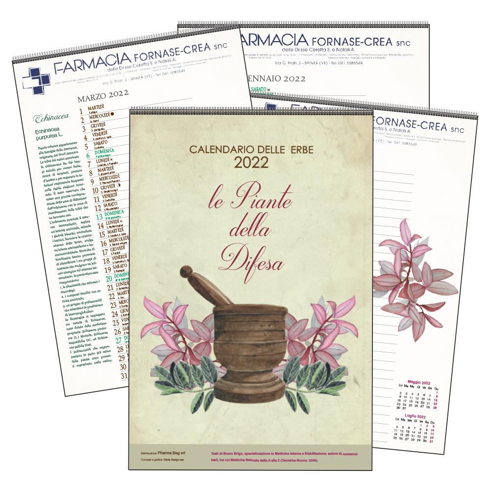 Calendario delle erbe MAXI