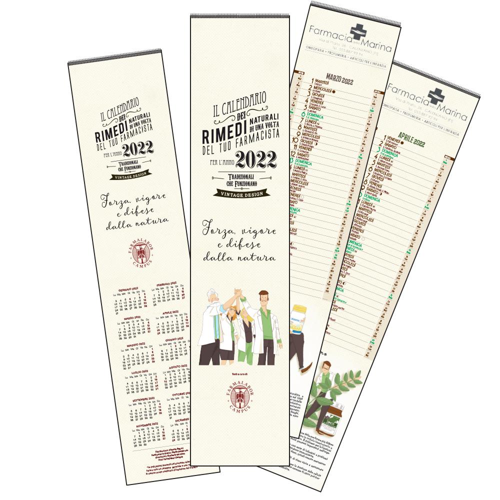 Calendario dei rimedi naturali MINI