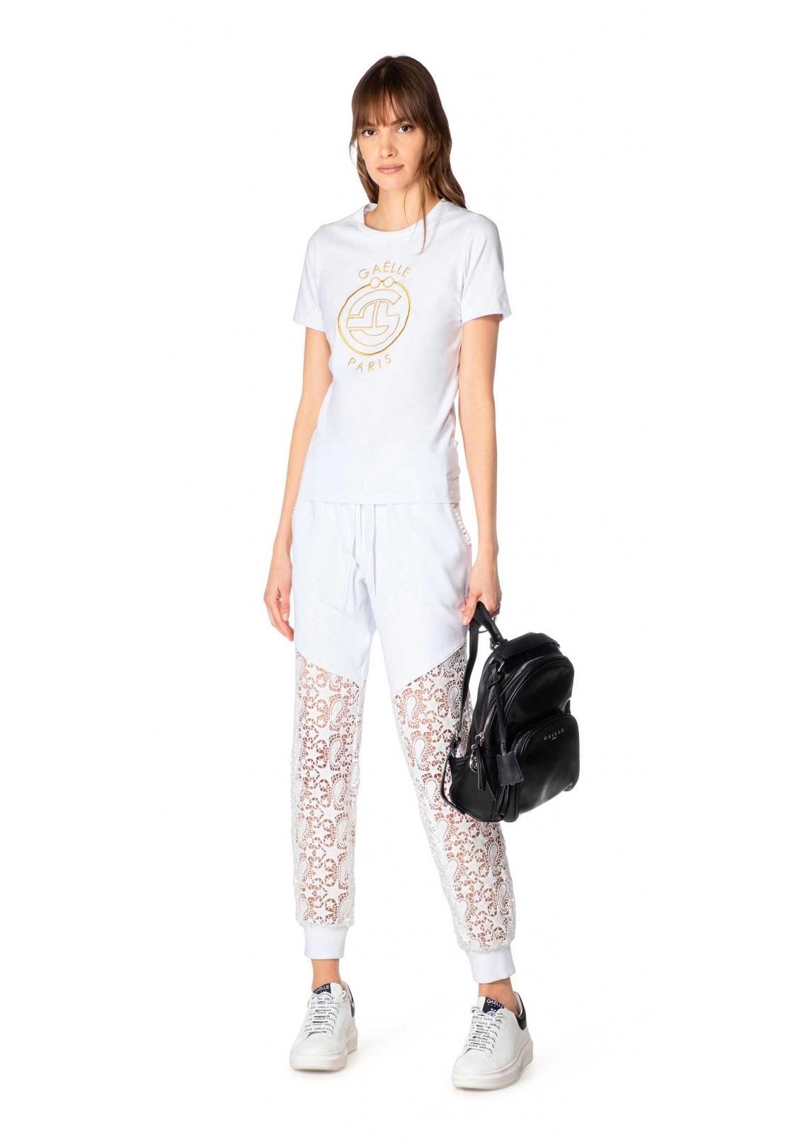 T-shirt in bielastico donna Gaelle