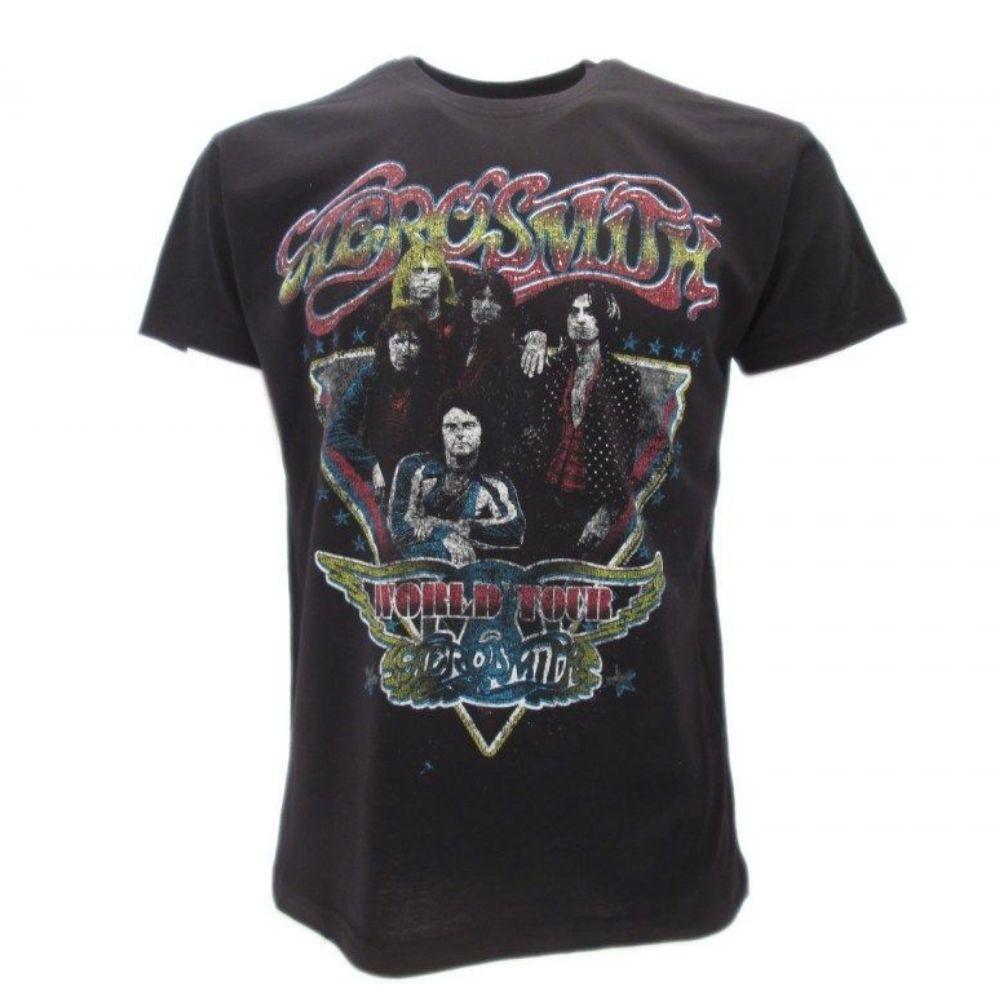 T-shirt Aerosmith taglia XS S M L XL XXL