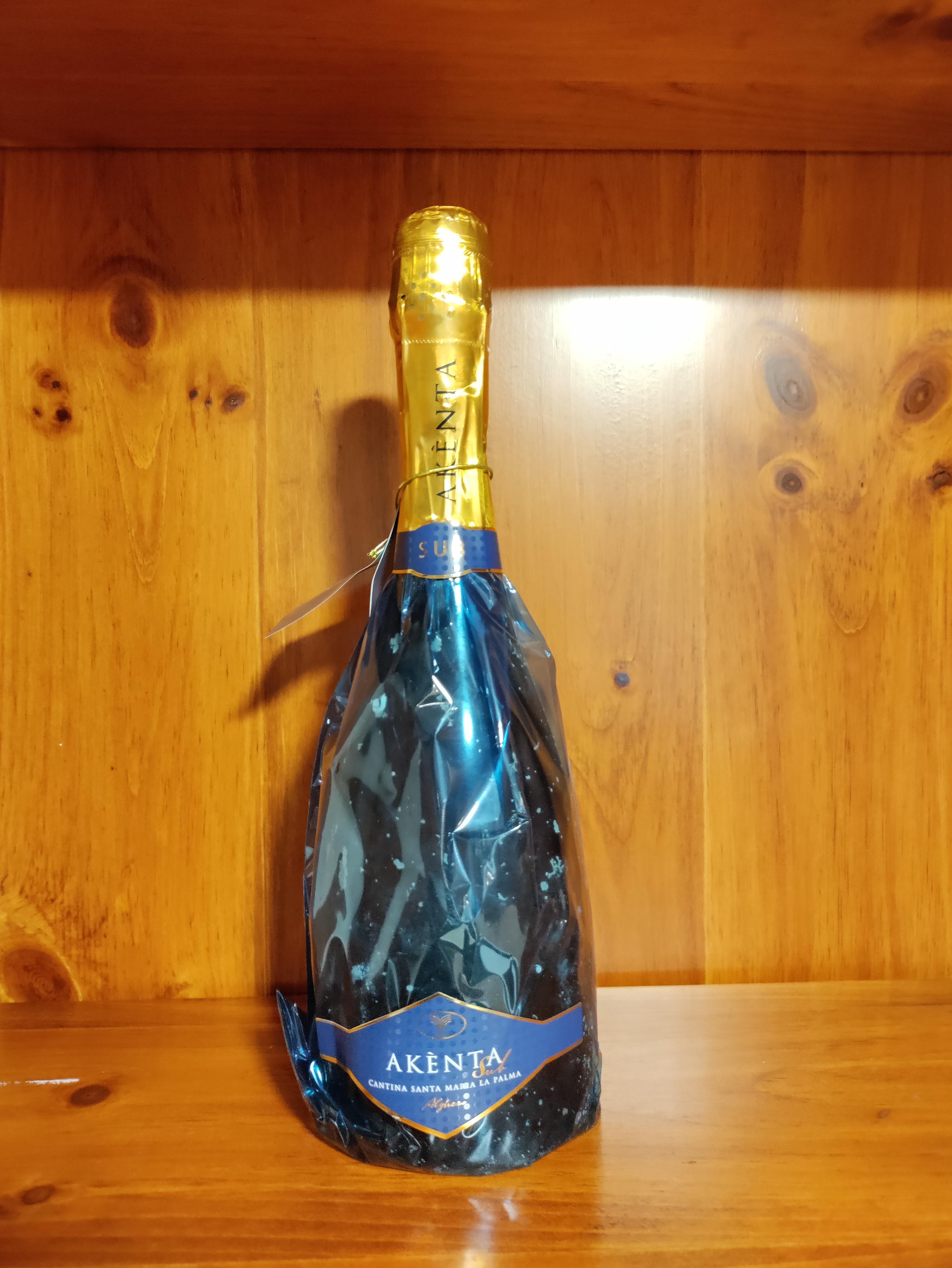 Akenta Sub Vermentino di Sardegna Doc Vino Spumante Extra Dry cl.75 - SMlaPALMA