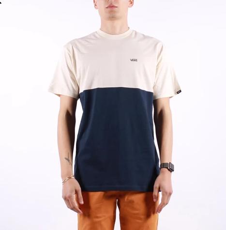 T-Shirt Vans Color Block Dress Blue