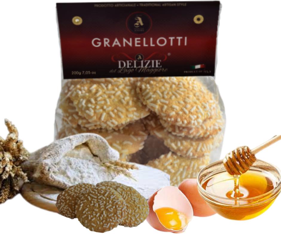 GRANELLOTTI - biscotti artigianali con granella di zucchero
