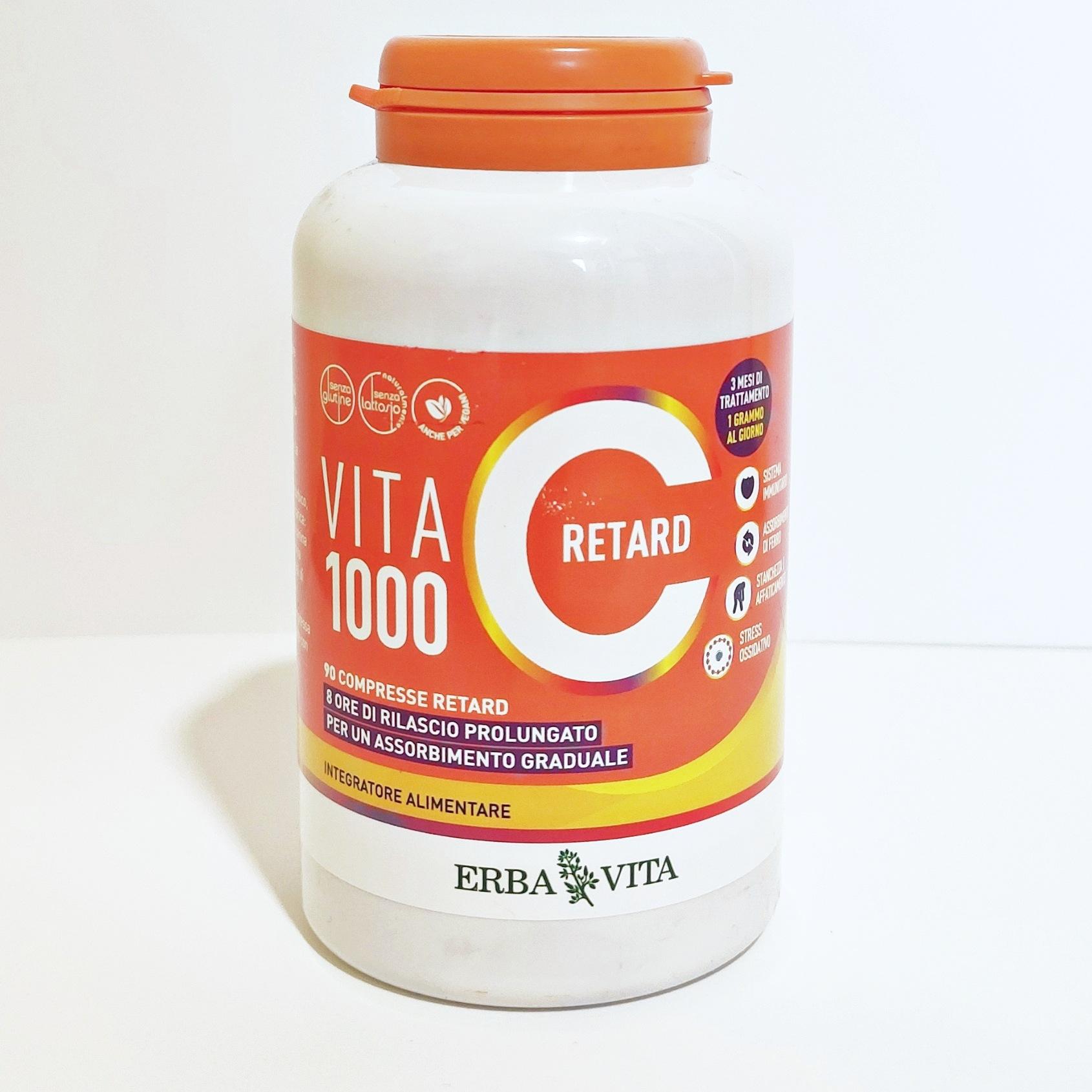 VITA C 1000 RETARD Pilloliera 90 compresse retard
