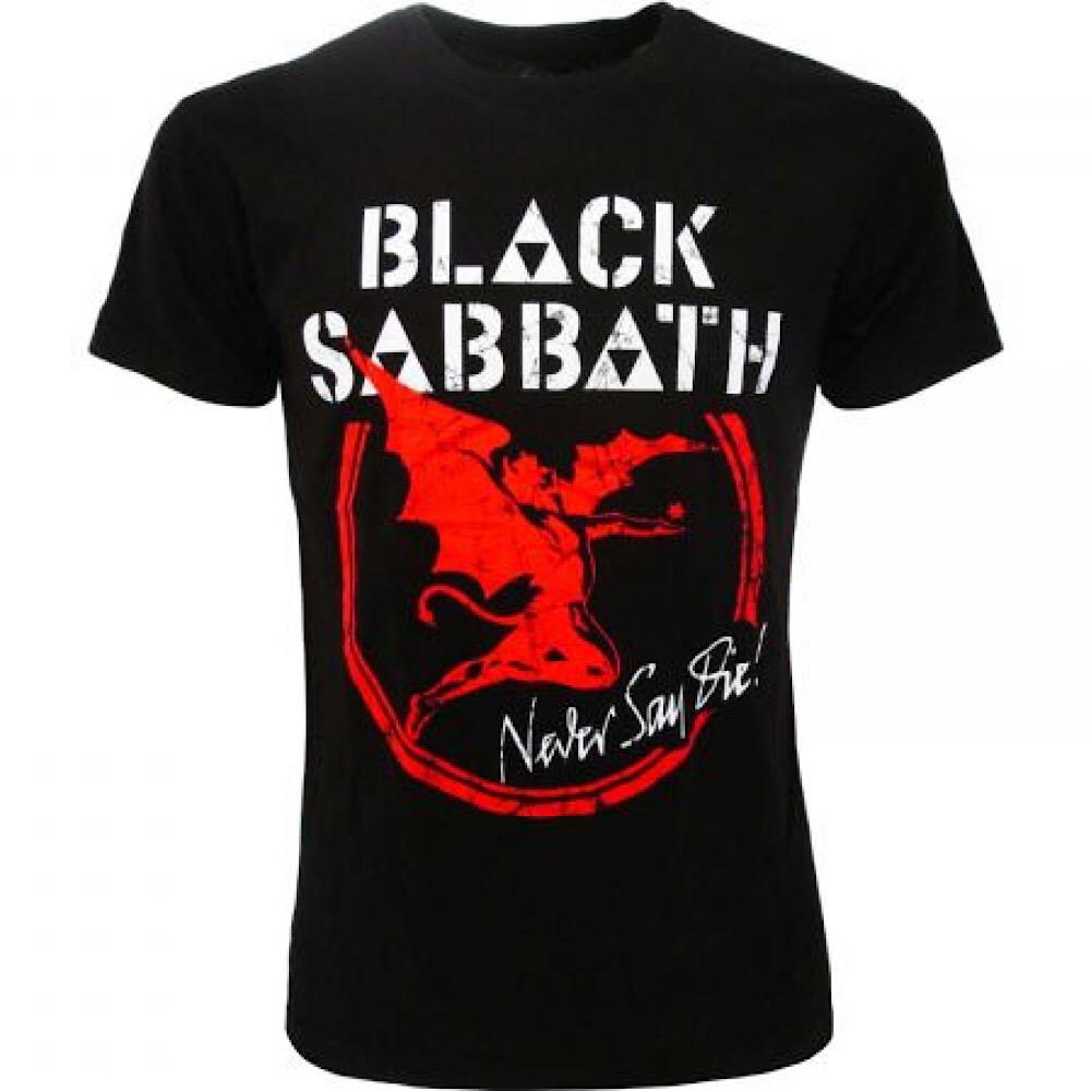 T-shirt Black Sabbath taglia XS S M L XL XXL