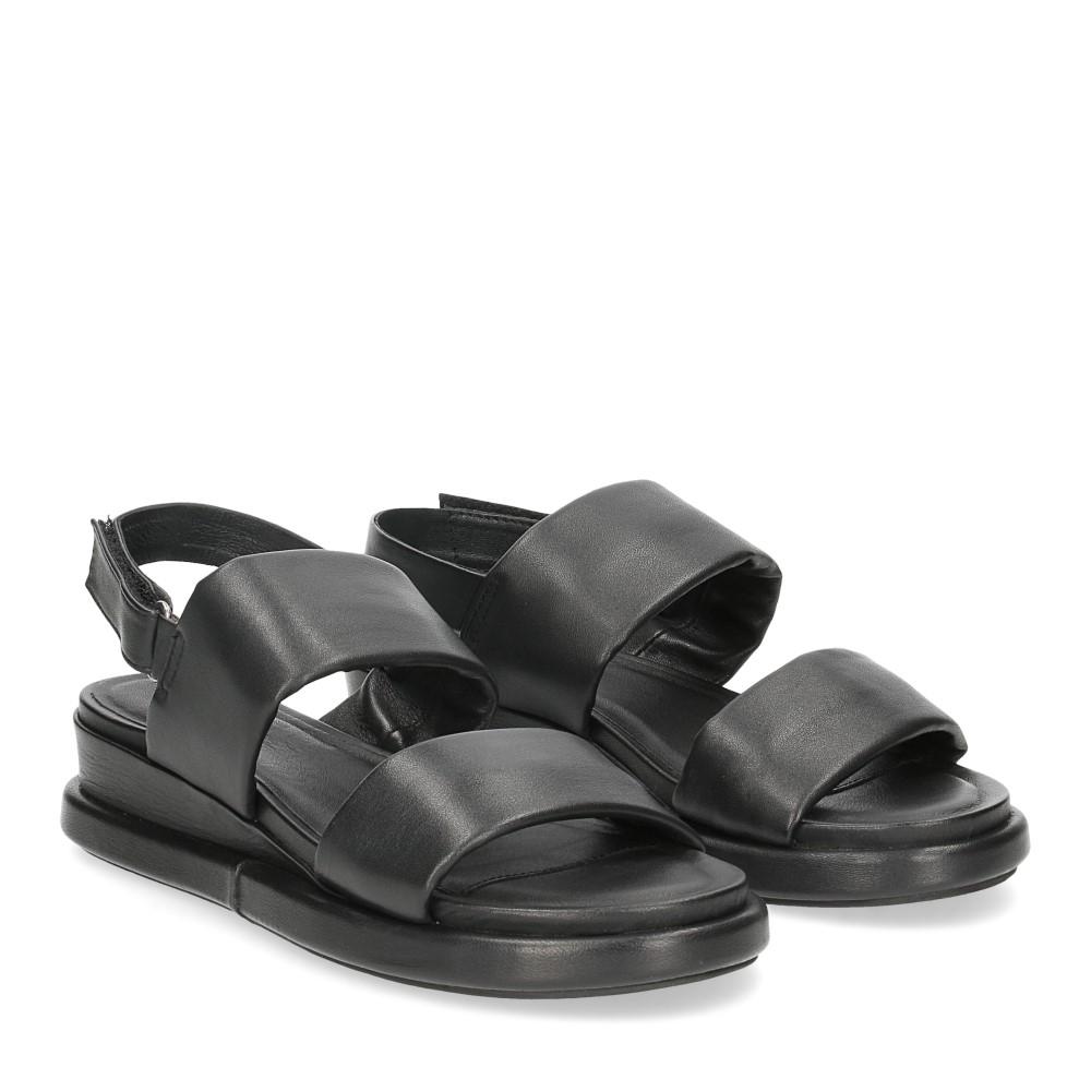 Inuovo sandalo 782002 pelle nera